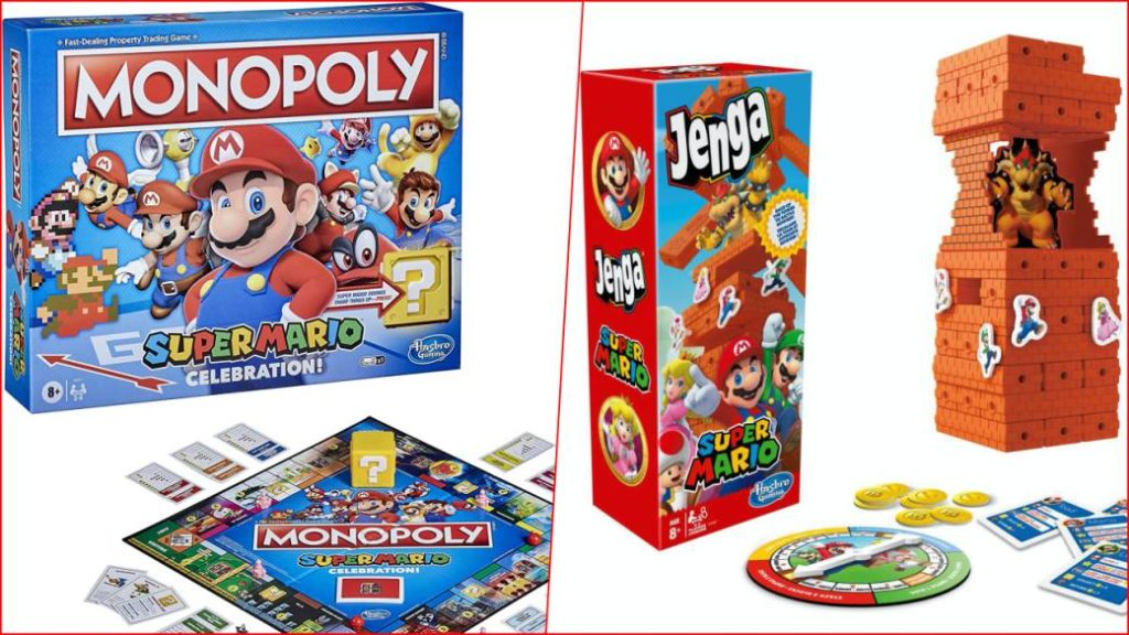 Super Mario 35th Anniversary   So are the new Monopoly and Jenga confirmed