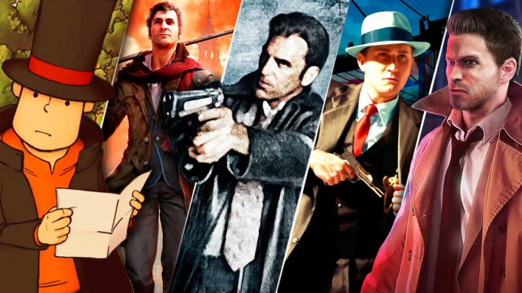 With a magnifying glass for a sword: illustrious detectives from the video game