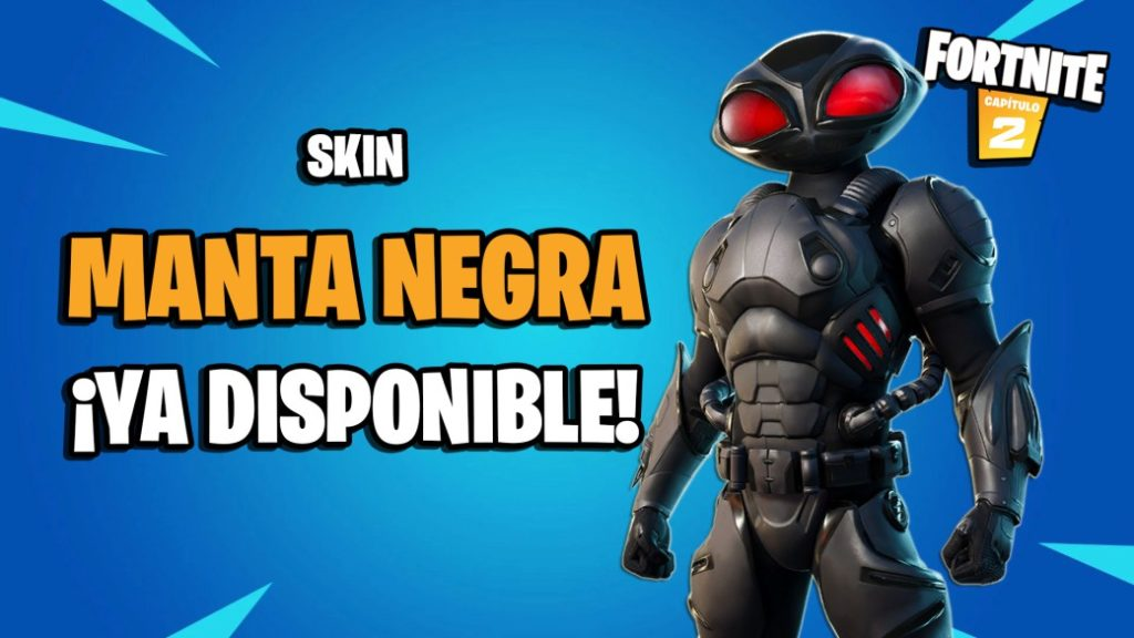Fortnite: Black Manta skin now available; price and content