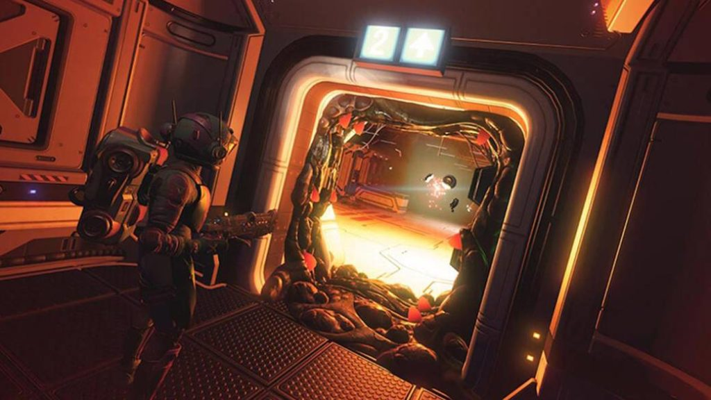 No Man's Sky bets on survival horror with its new update Desolation