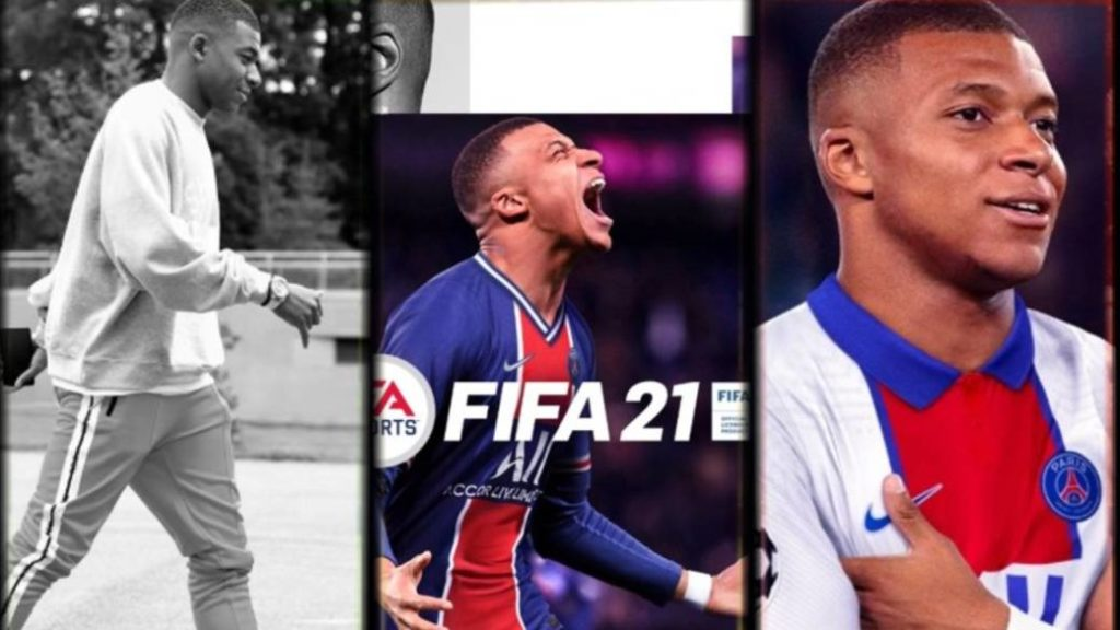 FIFA 21 presents the official covers of its three editions; Mbappé is the star