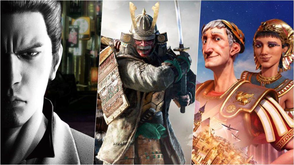 Free Game Days on Xbox: Civilization VI, Yakuza Kiwami, and For Honor