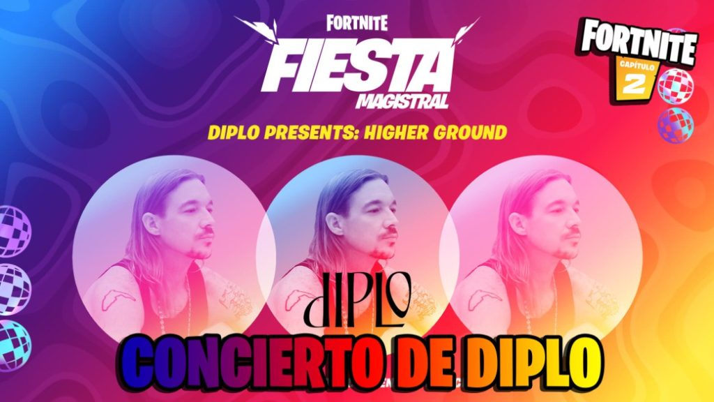 Diplo Fortnite event announced: Higher Ground; time and how to see live