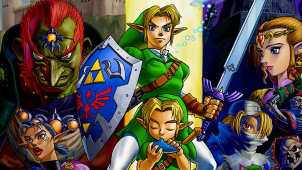Nintendo registers a new brand of The Legend of Zelda: Ocarina of Time