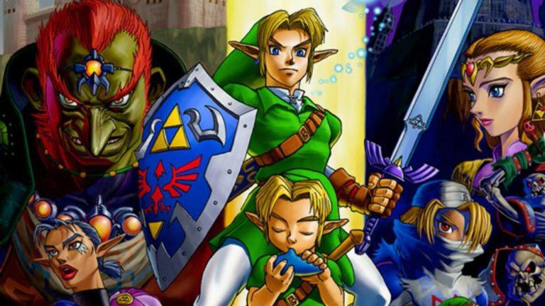 Nintendo registers a new brand of The Legend of Zelda: Ocarina of Time