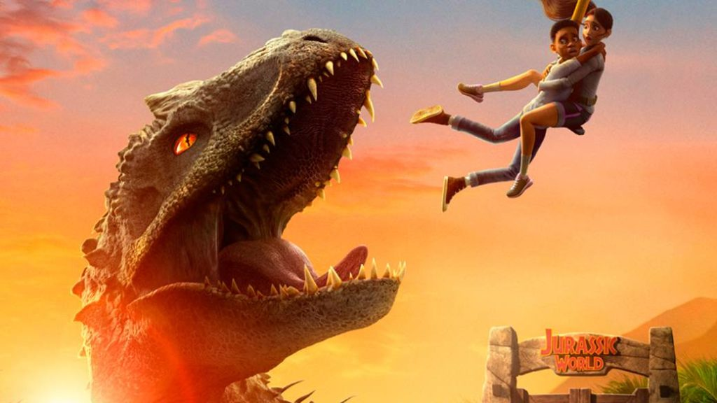 Jurassic World Camp Cretaceous: first trailer for the new Netflix animated series