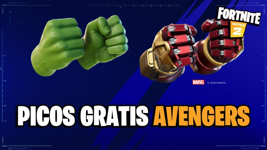 Fortnite: free Hulk spikes from Marvel's Avengers; how to get them
