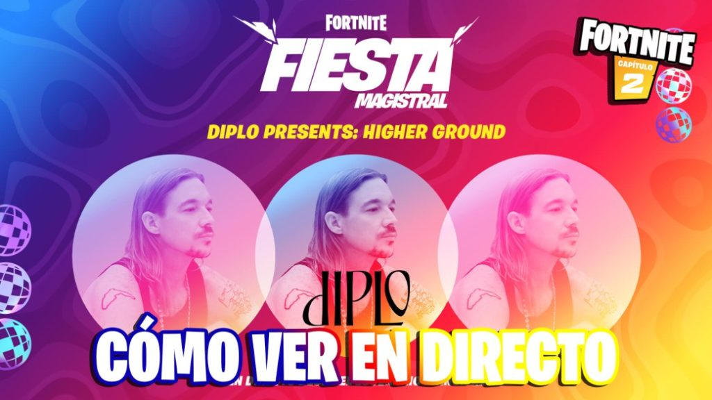 Diplo Event in Fortnite: Higher Ground; time and how to see the concert online