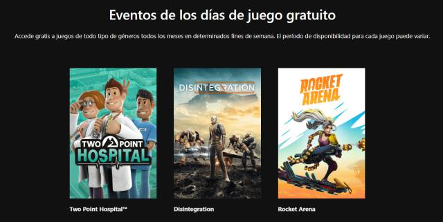 Free games Xbox One