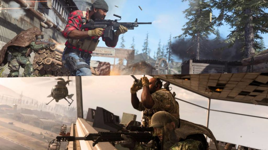 Call of Duty Modern Warfare and Warzone give away ingame items to those who watch streams