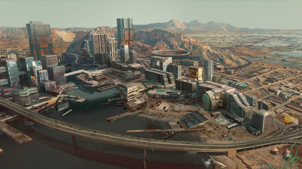Cyberpunk 2077: this is Pacifica, the tourist district that became a violent epicenter