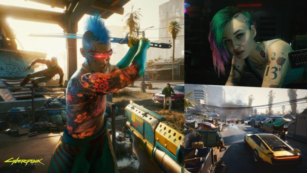 Cyberpunk 2077 will not allow using two weapons at the same time