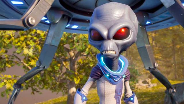 Destroy All Humans !: this is the original mission of the remake recovered from the original