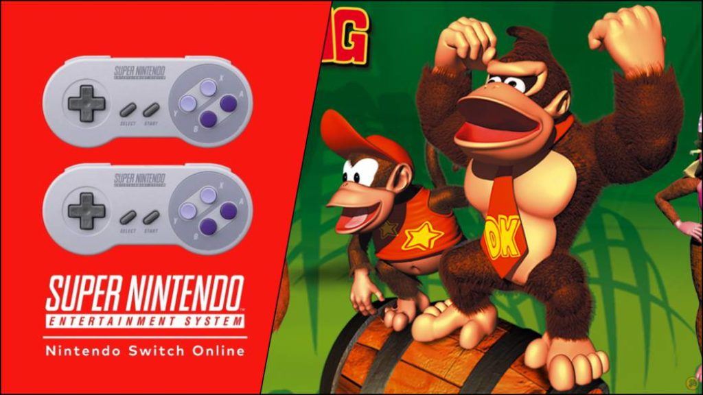 Donkey Kong Country Coming to Nintendo Switch Online; new SNES and NES games