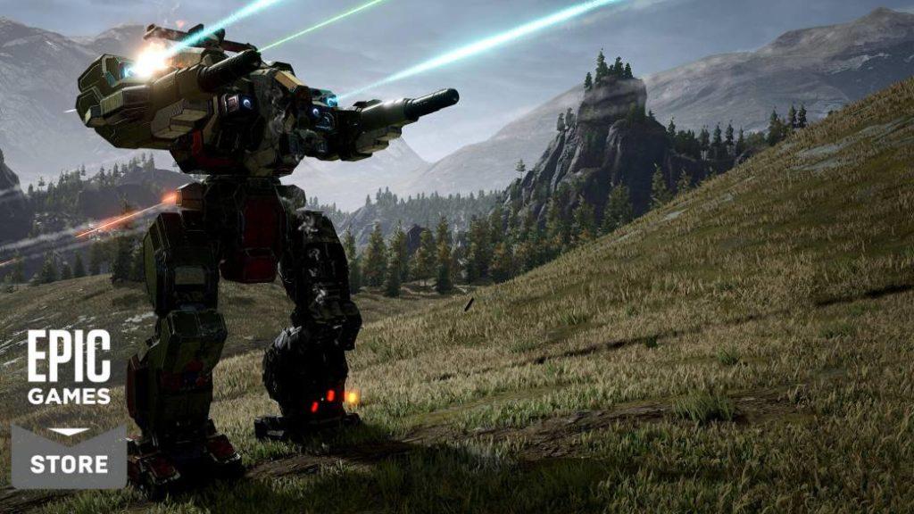 Epic Games Store test mods with Mechwarrior 5: Mercenaries