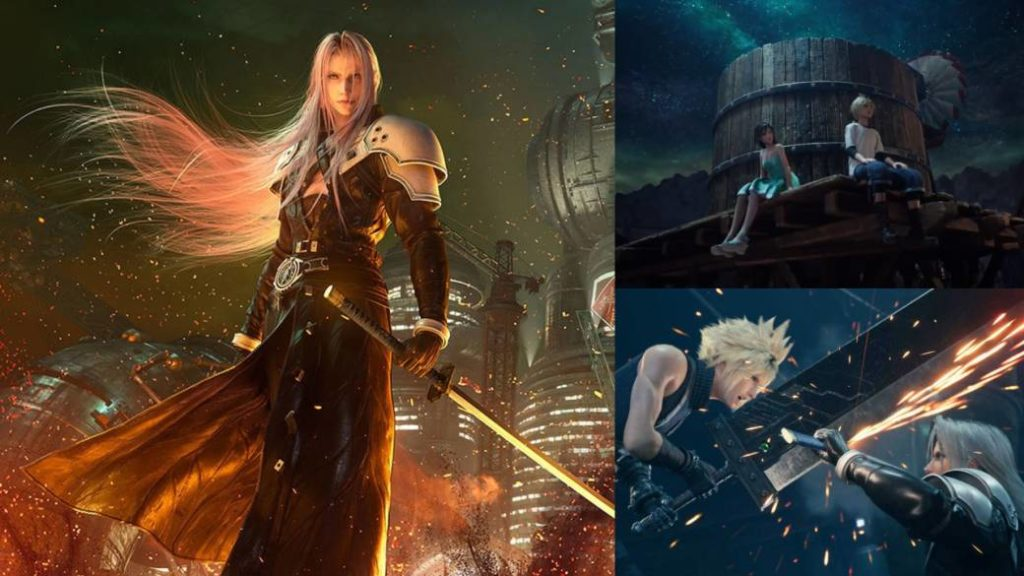 Final Fantasy VII Remake Part 2 is already in full swing