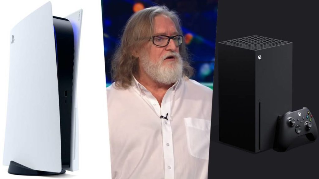 """Gabe Newell says Xbox Series X """"is better"""" than PS5"""
