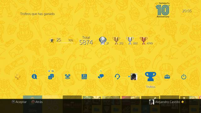 Free theme ps plus tenth anniversary ps4