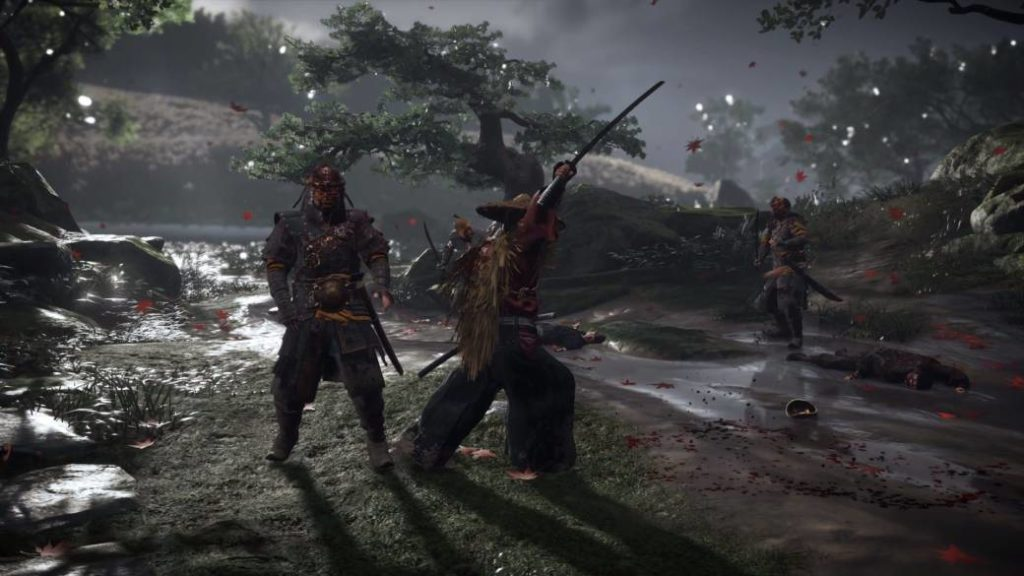 Ghost of Tsushima demonstrates his fighting skills in a new trailer