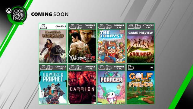 Grounded, Yakuza Kiwami 2 and Carrion among the Xbox Game Pass news