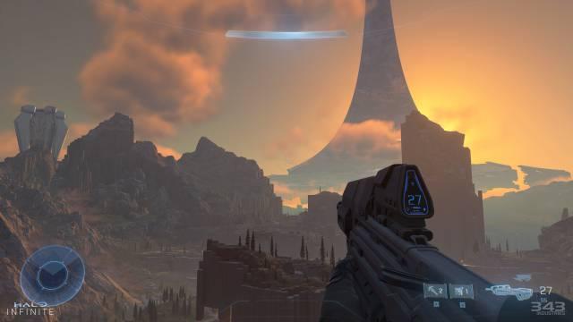 Halo Infinite effortless gameplay 343 Industries Xbox Series X