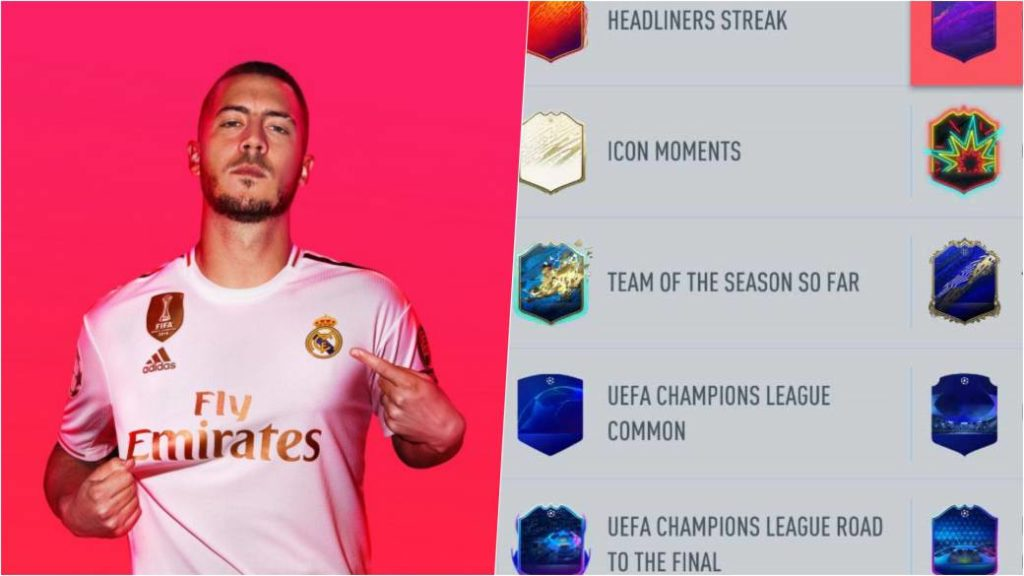 How the new card type filter works in FIFA 20