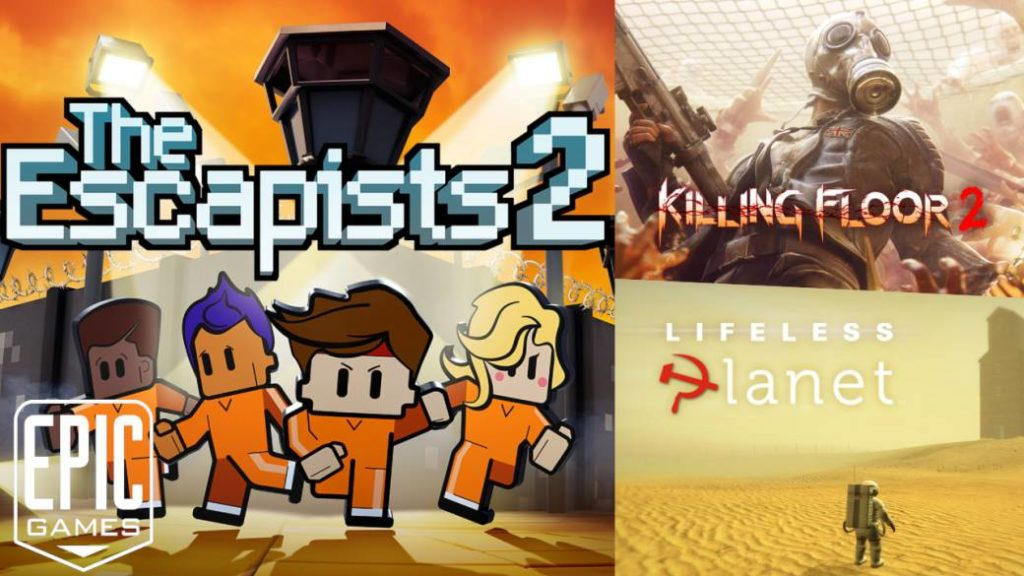 Killing Floor 2 and The Escapists 2, among the free games from the Epic Games Store; how to download them