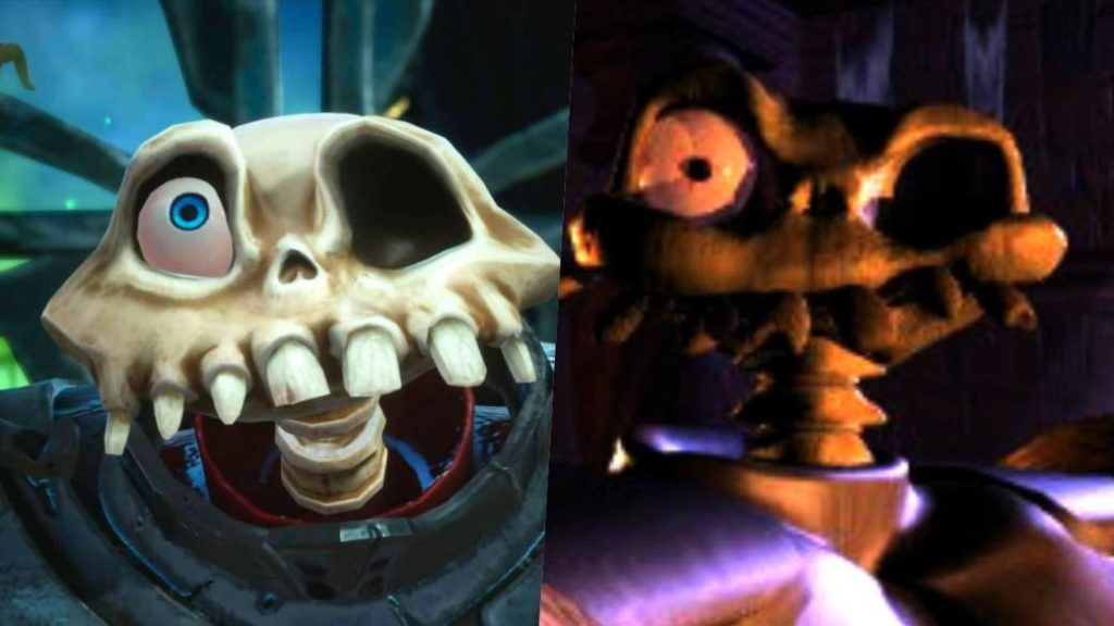 MediEvil for PlayStation 4 hides a PSX emulator
