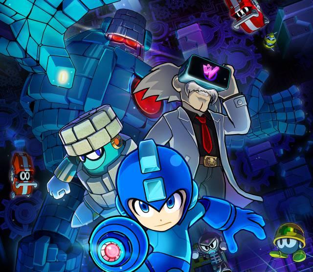 Mega Man VR: Targeted Virtual World !!