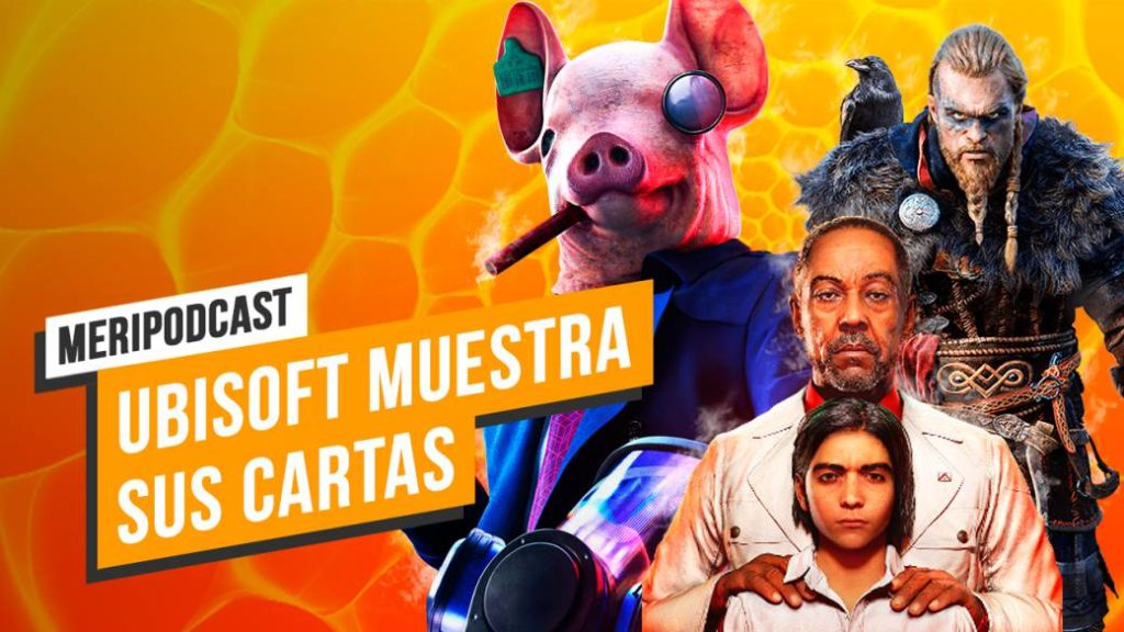 MeriPodcast 13×38: The Aces of Ubisoft: Assassin's Creed Valhalla, Far Cry 6 and Watch Dogs Legion