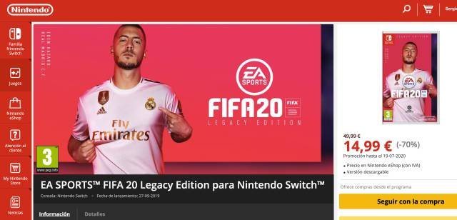 Switch fifa20