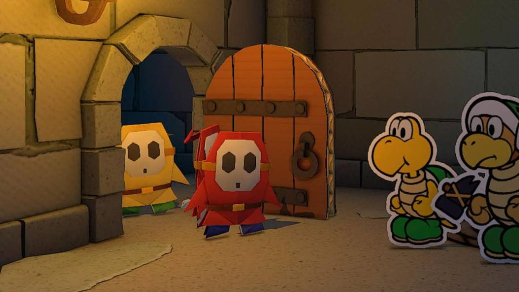 Paper Mario: The Origami King has had creative restrictions imposed by Nintendo