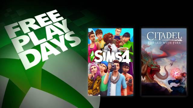 Xbox One Sims 4 Free