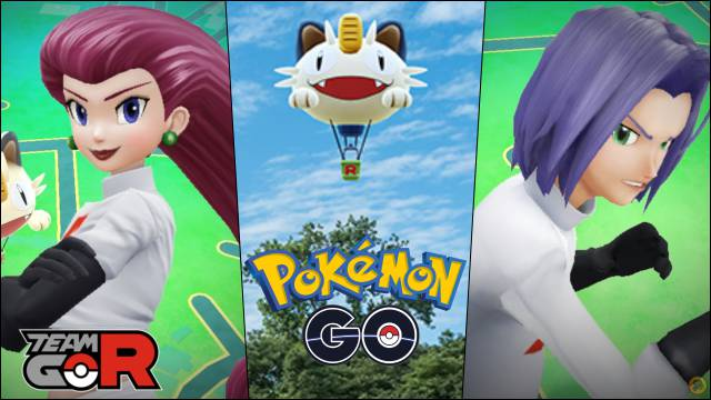 Jessie and James have arrived at Pokémon GO