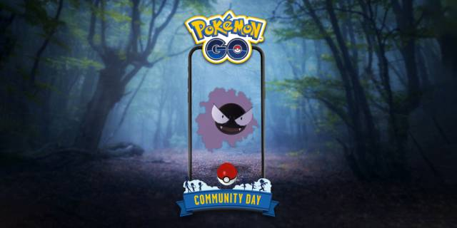 Pokémon GO Gengar Gastly
