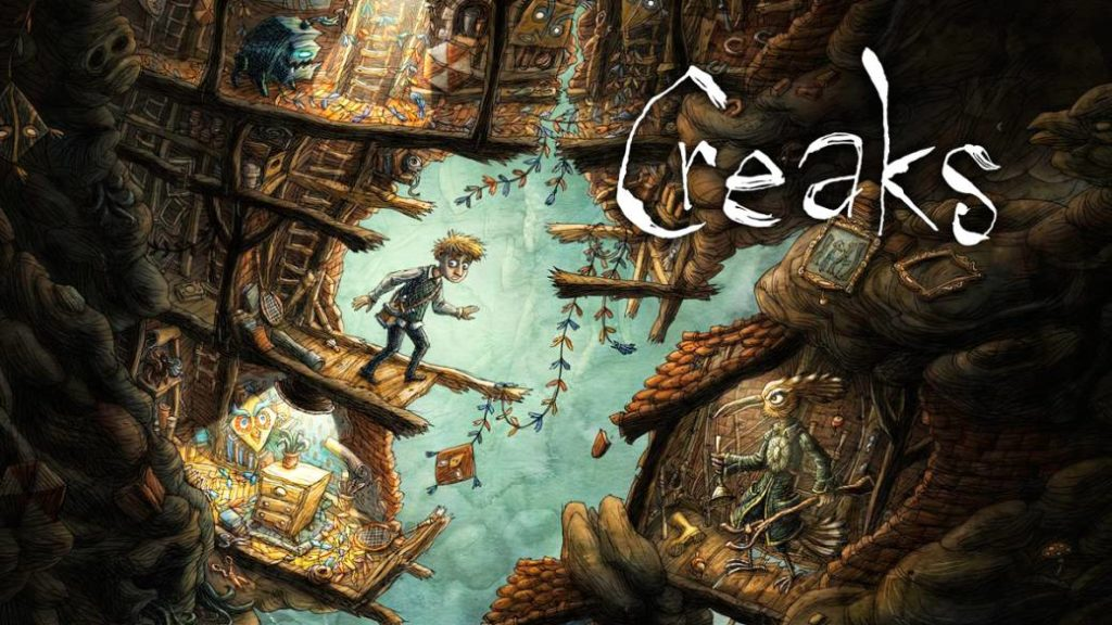 Reviews: Creaks. Amanita Design's excellent puzzle game