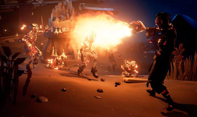Sea of Thieves: fiery pirates, flamethrowers, and more with Ashen Winds