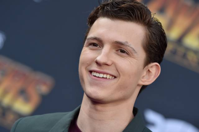 Tom Holland at the Avengers: Infinity War (2018) Premiere | Axelle / Bauer-Griffin / FilmMagic