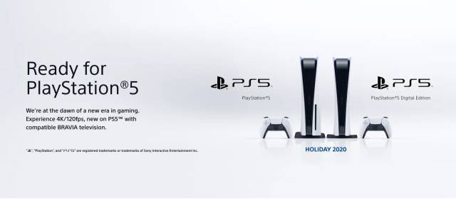 Sony launches a range of televisions designed for PS5