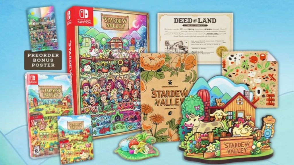 Stardew Valley will have physical editions on PC and Nintendo Switch