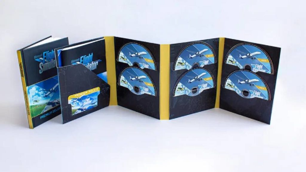 The physical edition of Microsoft Flight Simulator will include 10 discs