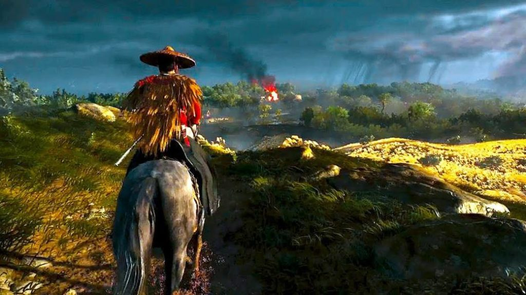 The world of Ghost of Tsushima: 3 regions, more than 40 biomes and other details