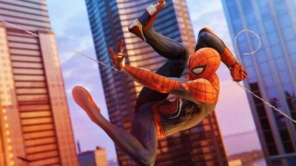 This is what Marvel's Spider-Man (PS4) looks like at 60 FPS on PC with a rendering technique
