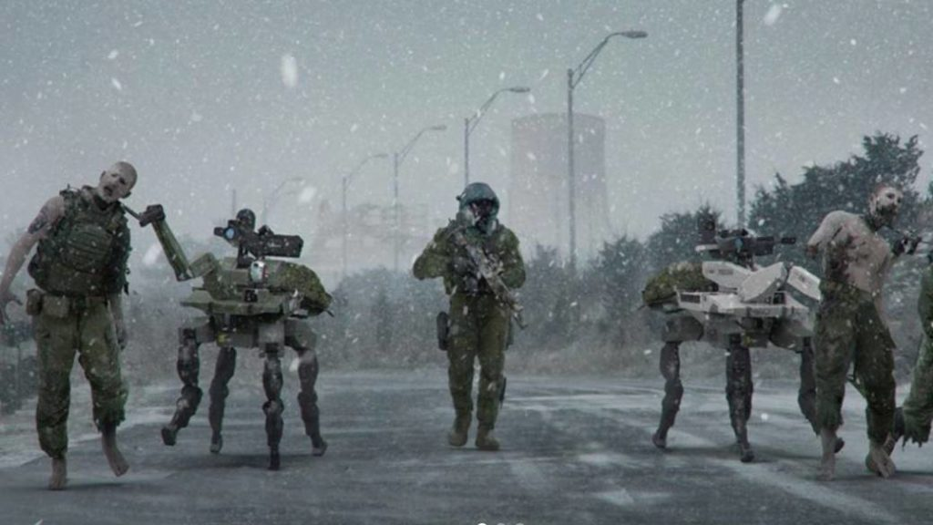 This was the discarded zombie mode of Call of Duty: Modern Warfare