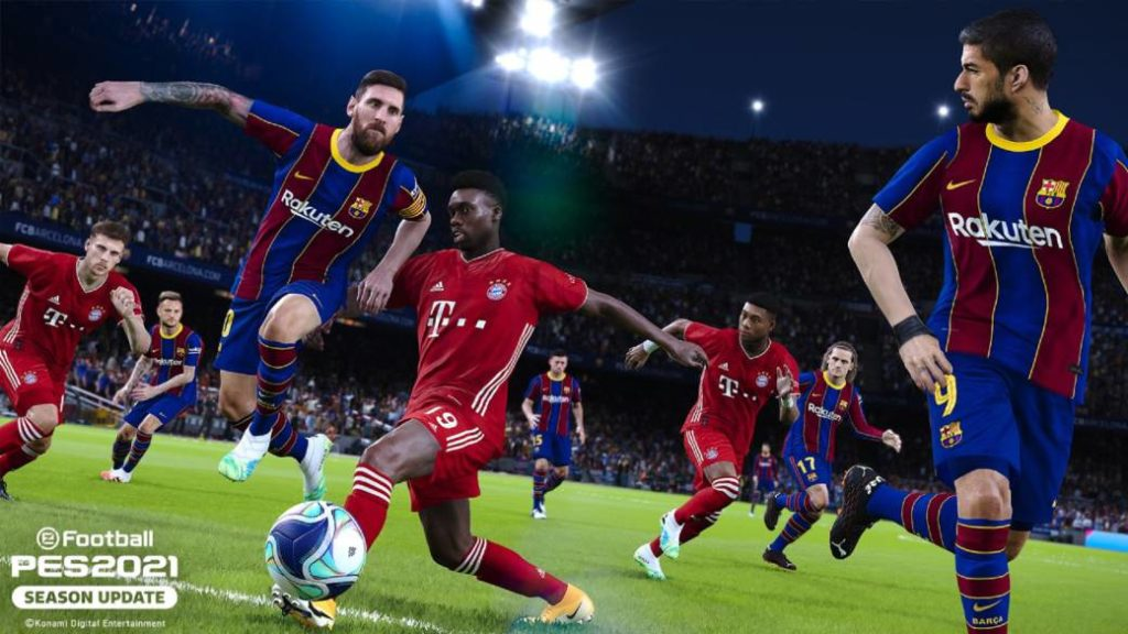 eFootball PES 2021 Season Update is official: trailer, release date, price and editions
