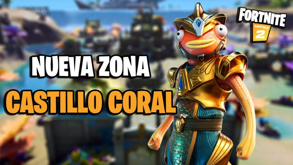 Fortnite: Coral Castle comes to the island