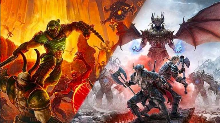 Doom Eternal and The Elder Scrolls Online will feature improvements on PS5 and Xbox Series X
