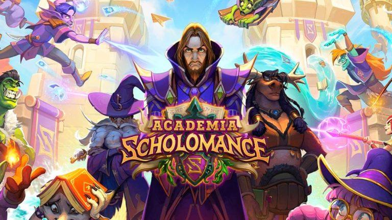 Hearthstone Scholomance Academy. Classes start