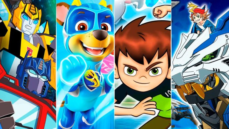 Ben 10, Transformers, Zoids, Paw Patrol ... wave of family games
