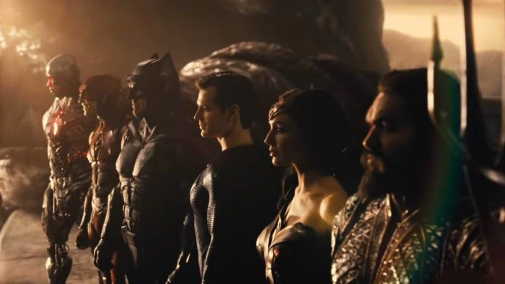 Justice league august ames scene